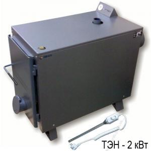 Warmos TT-25К (с ТЭНом на 2 кВт и регулятором тяги)