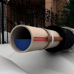 Саморегулирующийся кабель SAMREG 24-2 24Вт для обогрева труб (на трубу под утеплитель) купить с доставкой по Москве, РФ. Отзывы, цена, документация, технические характеристики, производитель  Магазин ЭВАН - Москва, Волоколамское шоссе, 103 тел. +7 (495) 908-52-03