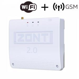 ZONT SMART 2.0 отопительный контроллер для электрических и газовых котлов купить с доставкой, цена, документация, технические характеристики, производитель  ЭВАН - Москва, Волоколамское шоссе, 103 тел. +7 (495) 908-52-03